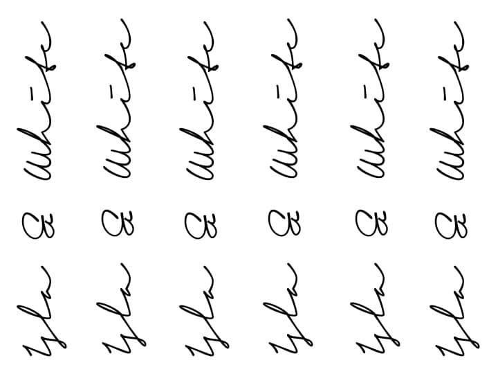 Signature Print